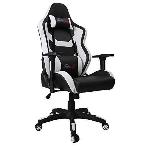Upgrade to Large Size Kinsal Gaming Chair High-back ...