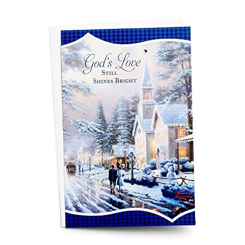 Snowy Home Christmas Boxed Cards Thomas Kinkade Gnidare
