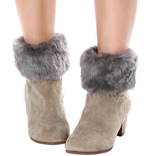 aaf0e4f5e With outstanding workmanship vochic knit Leg boot cuffs keep our legs warm