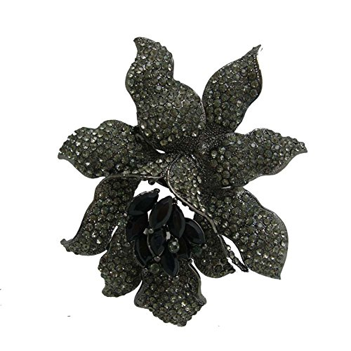 purple,color,br NEW Flower Austrian Crystal High Quality Metal Roses Headband