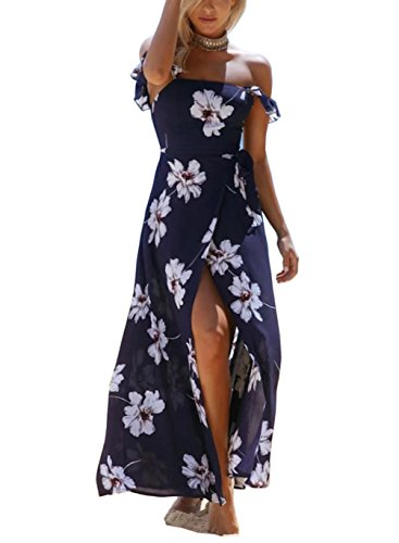 a1b6f659e877 Design: floral printed v-neck tie knot front and buttons down decors  design, elastic chest, A-line style, open back, ...