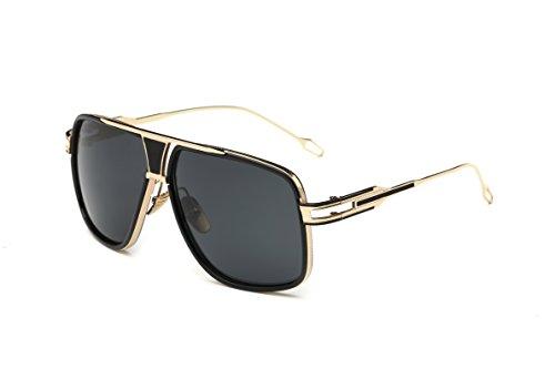 e4dc561b7 Gobiger Aviator Sunglasses for Men 100% UV Protection Goggle Alloy Frame  with Case