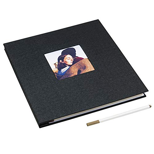 Large Magnetic Page X Pando Photo Album Black Gnidare