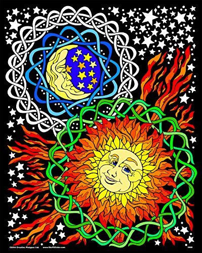 16×20 Fuzzy Velvet Coloring Poster – Stuff2Color Sun and ...